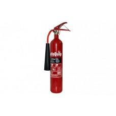 CO2 2kg Fire Extinguisher (Alloy Steel)