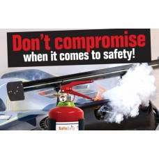 DCP 1.5kg Fire Extinguisher (Firemate)
