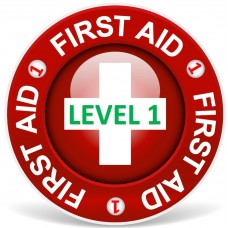First Aid level 1 (1-3 Persons)