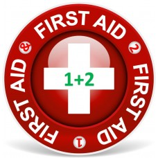 First Aid Level 1 and  2  combined (1-3 persons)