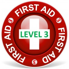 First Aid level 3 (1-3 people)